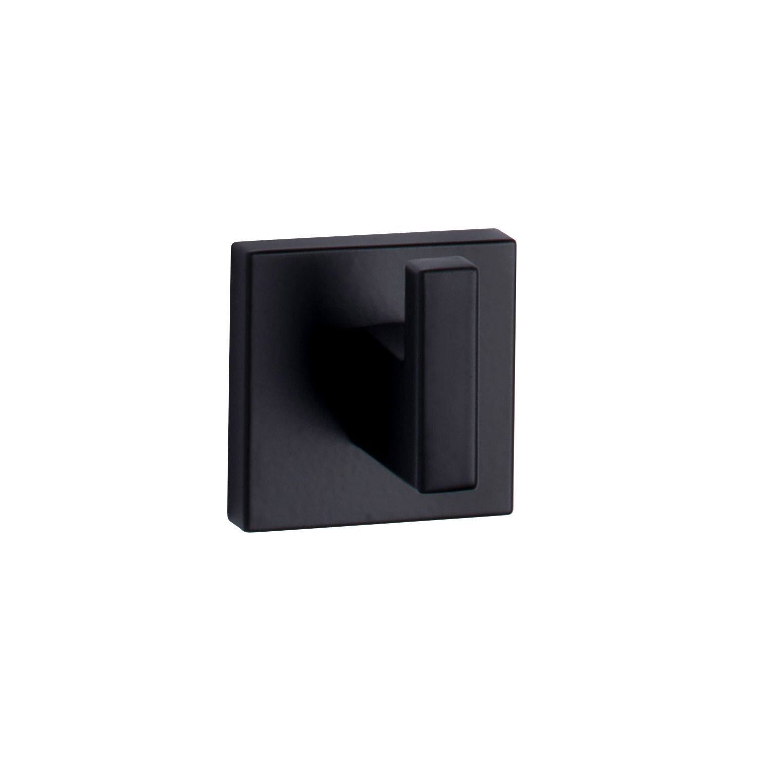 ALLUSION Single Robe Hook — Matte Black