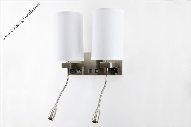 Wall lamp with reading light