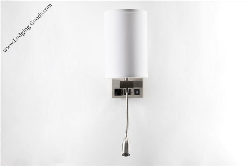 Single Wall Lamp with Reading Light