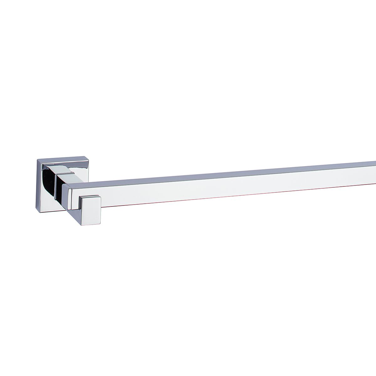 1948 SQUARE Towel Bar — Polished Chrome