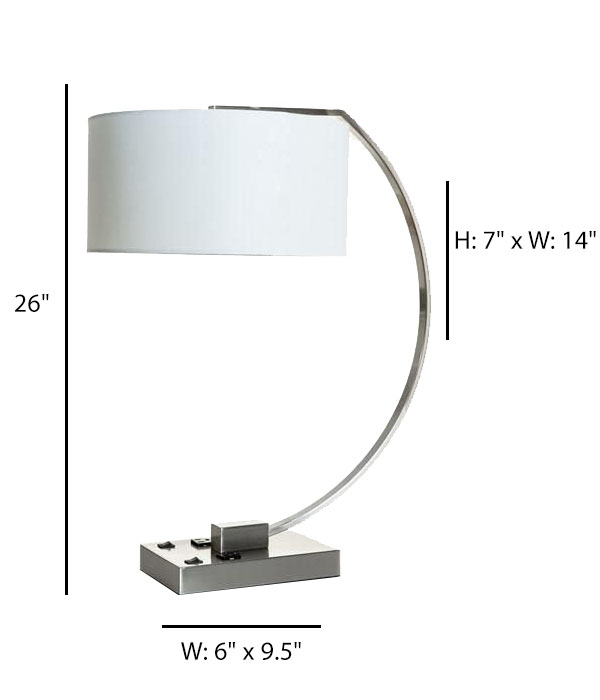 Double Table Lamp