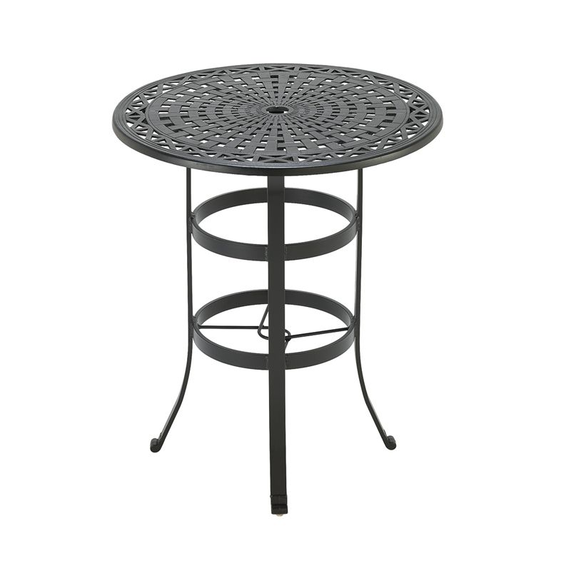 Universal Bar Table Frame with Cast Feet