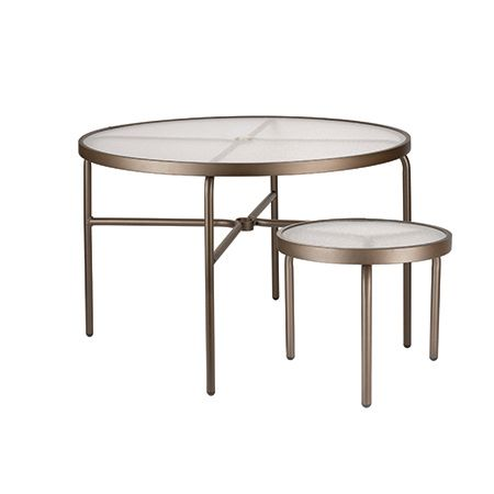 Round Acrylic Tables