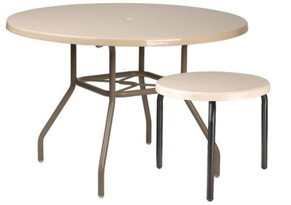 Round Fiberglass Tables