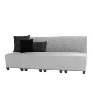 Quad Armless Sofa
