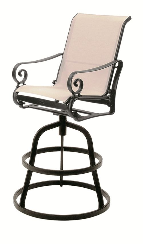 Hi-Back Swivel Barstool