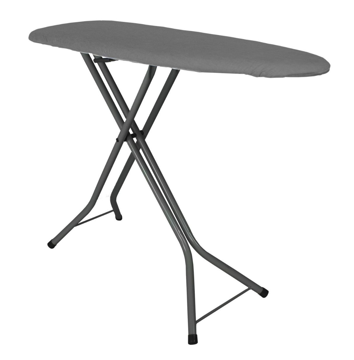Compact Ironing Board- Charcoal Cover/Black Legs