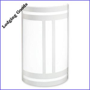 White Pocket Wall Sconce