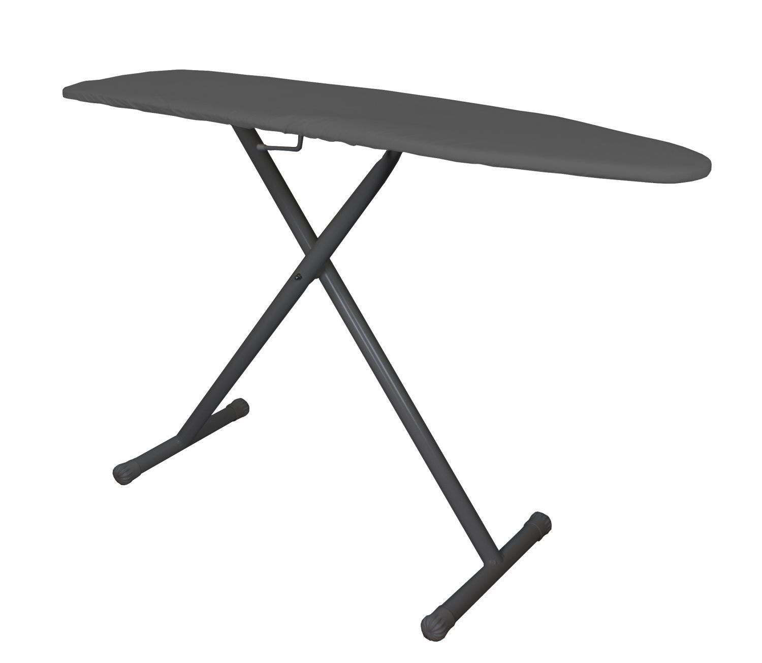 Presstige Ironing Board- Charcoal Cover/Black Legs