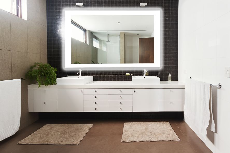 Led Lighted Mirror 36 x 48