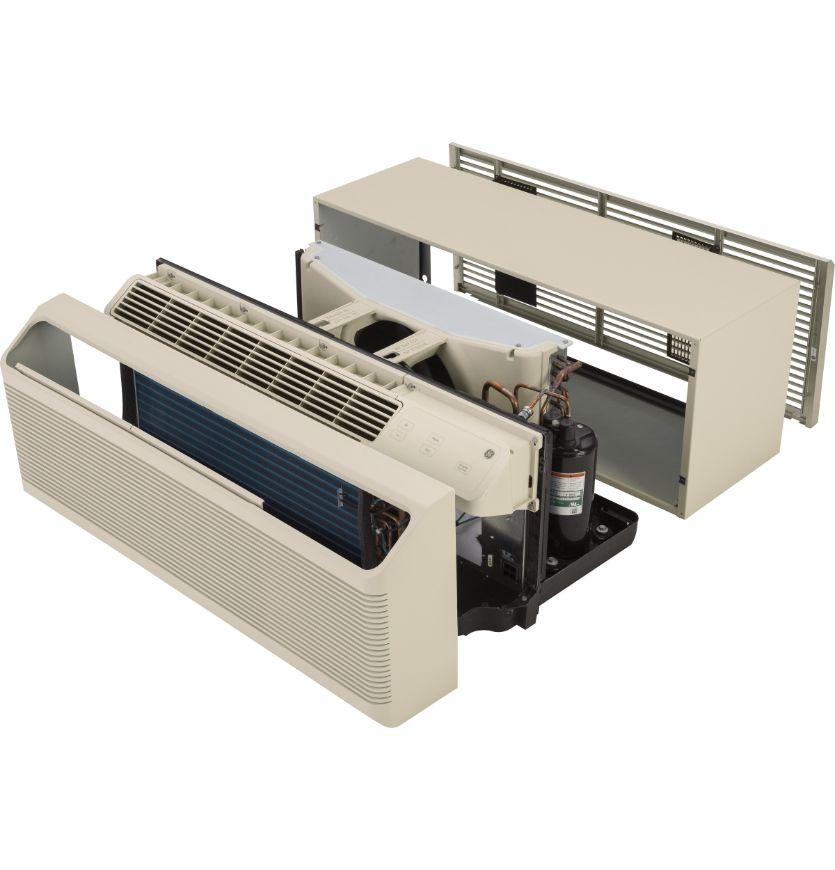 GE Zoneline Heat Pump Unit with ICR, 230/208 Volt