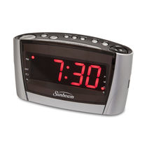 Sunbeam Clock Radio with Insta-set