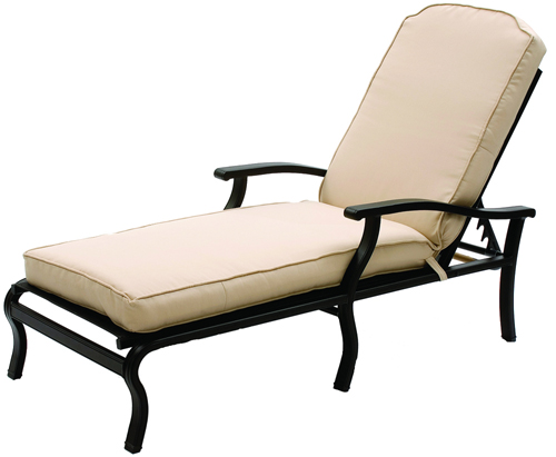 Chaise Lounge  EM113 Optional Cushion
