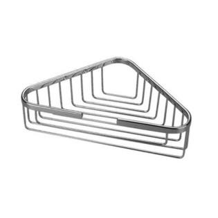 Large Corner Basket - Polished Brass