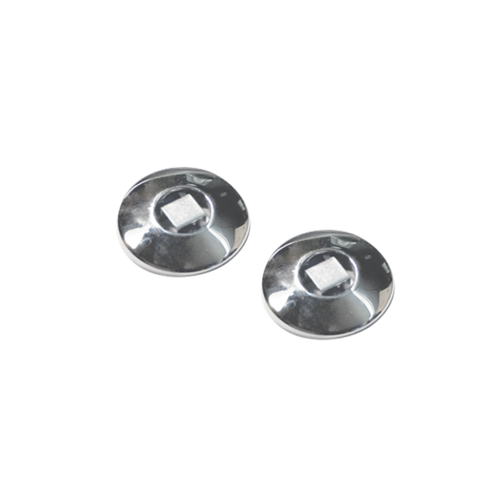 Stainless Steel Rod Flange - Polished Chrome