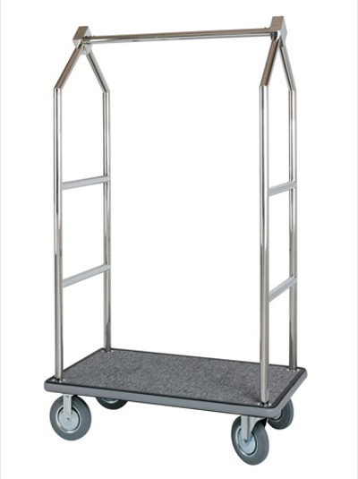 Bellman Cart Polished Stainless Steel