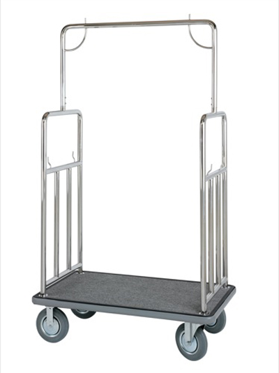 Bellman Polished Stainless Steel Cart