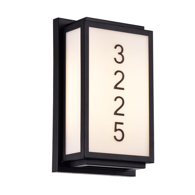 Address Lights Fixture with Room Numbers
