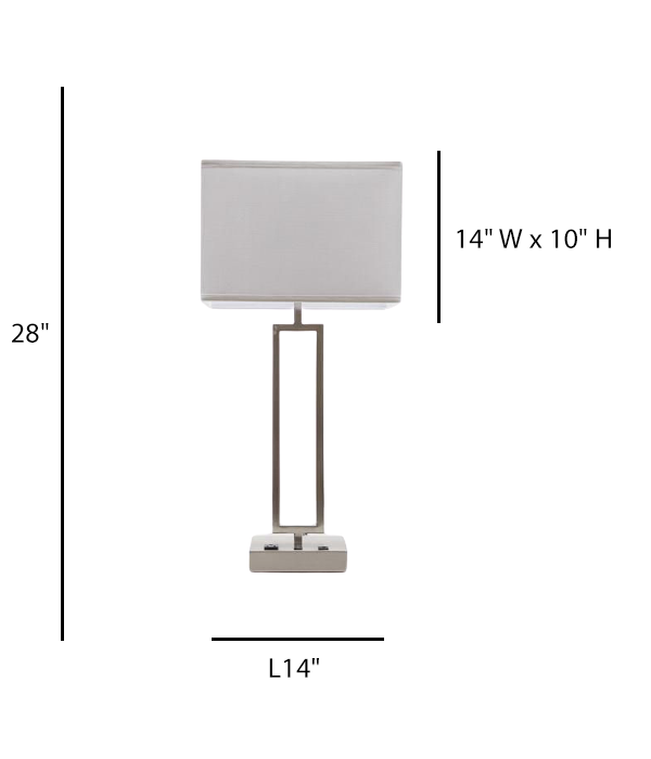 Single Table Lamp