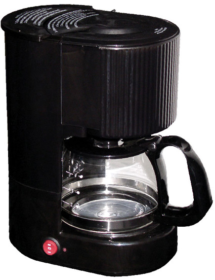 4-cups Coffee Maker w/S.S Carafe