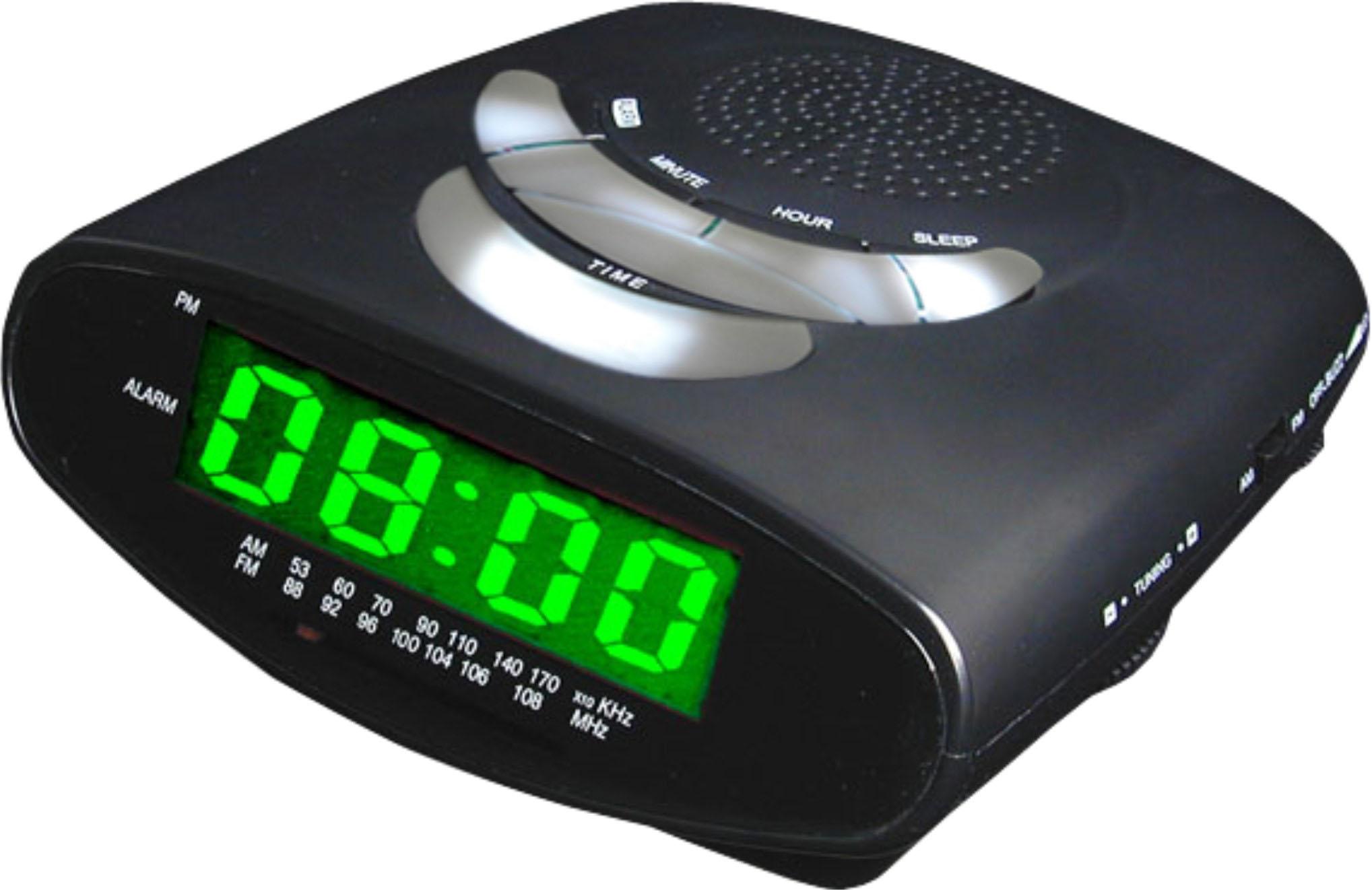 Alarm Clock Radio with MP3 Connectivity