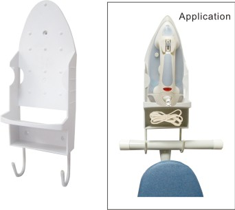 Iron Organizer Designed to accommodate iron and board