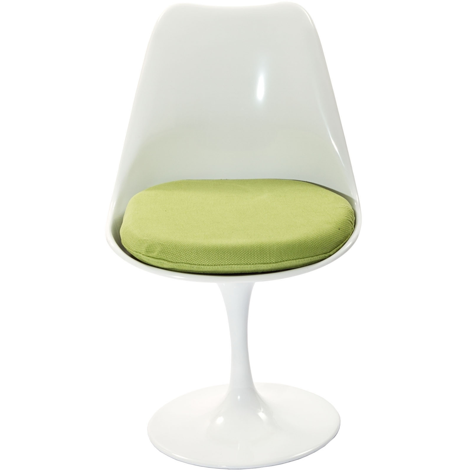Lippa Dining Fabric Side Chair in Green