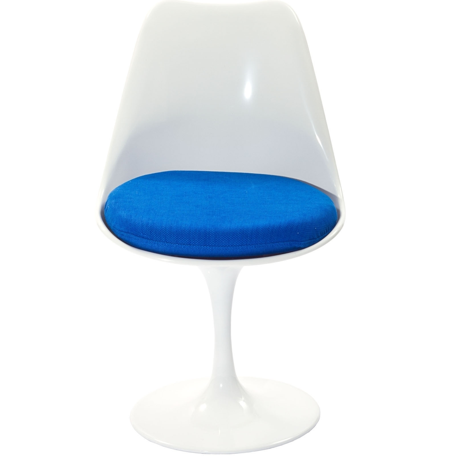 Lippa Dining Fabric Side Chair in Blue