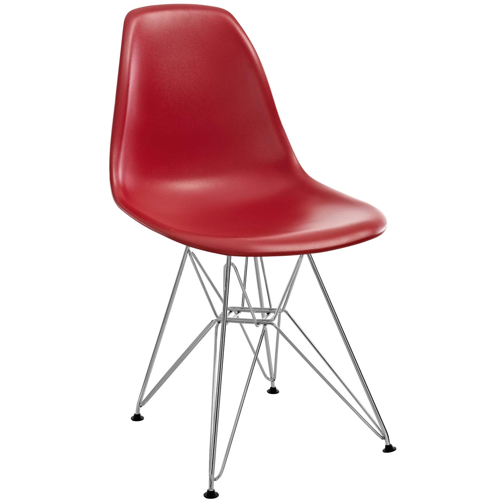 Paris Dining Side Chair in Red