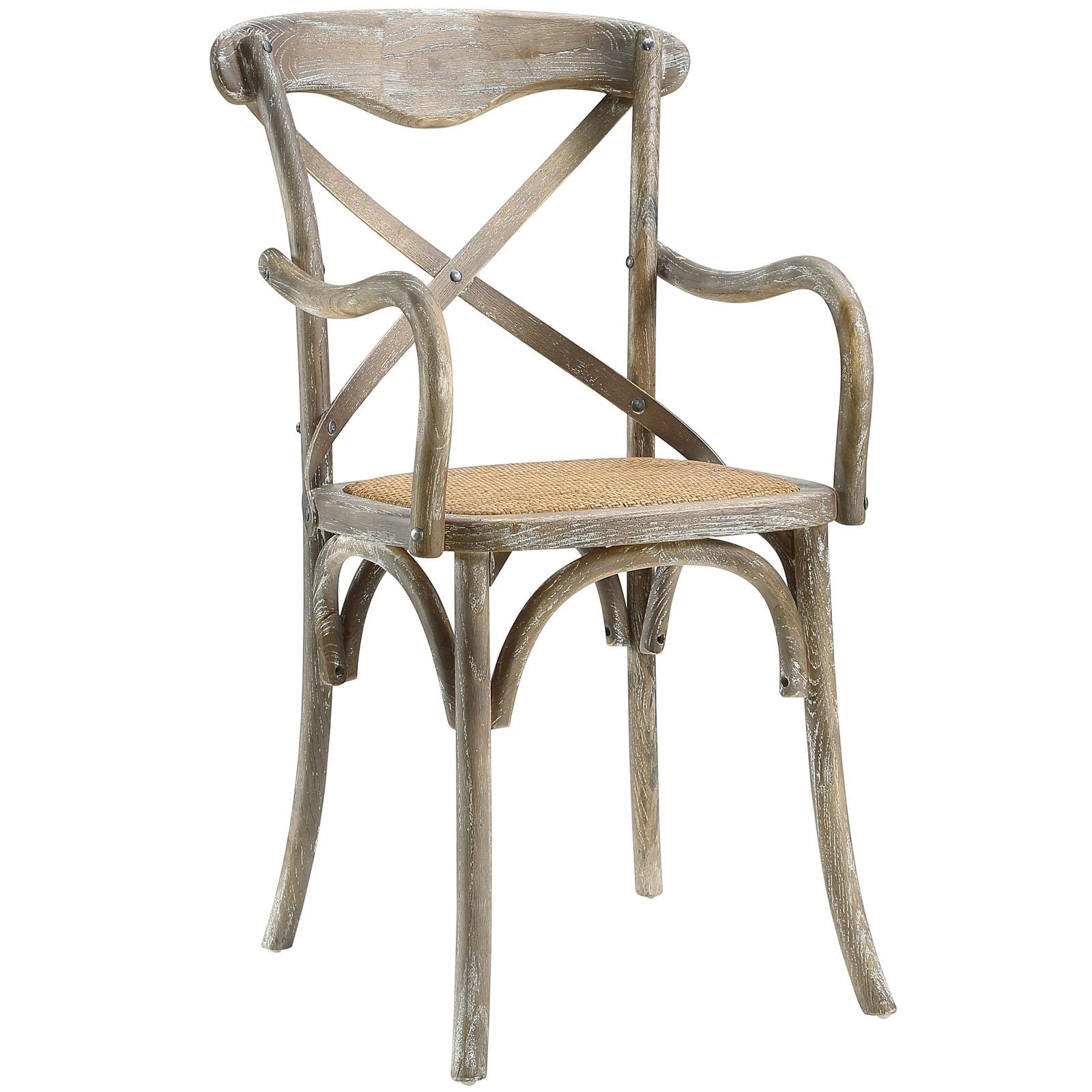 Gear Dining Armchair in Gray