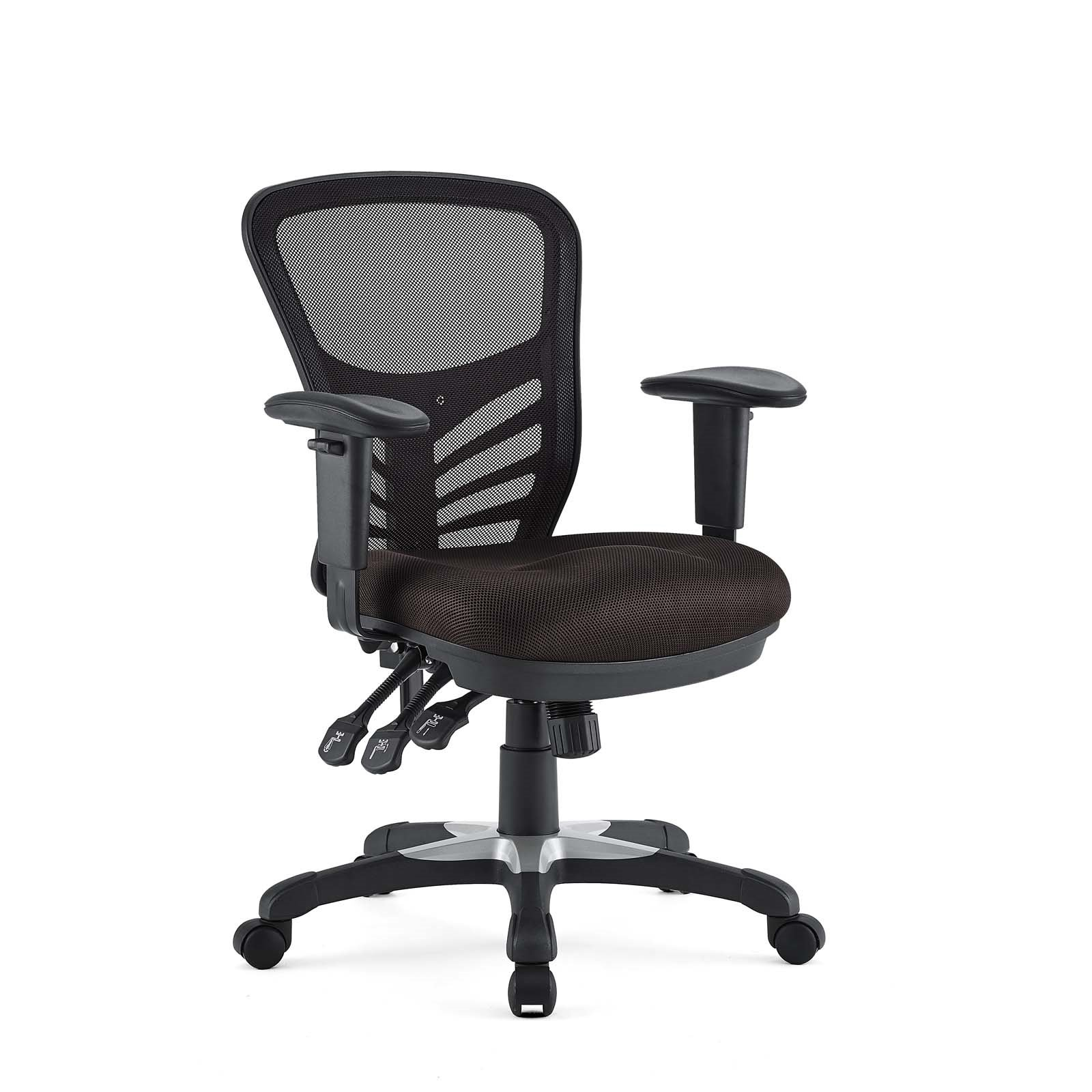 Mesh Office Chair in Brown