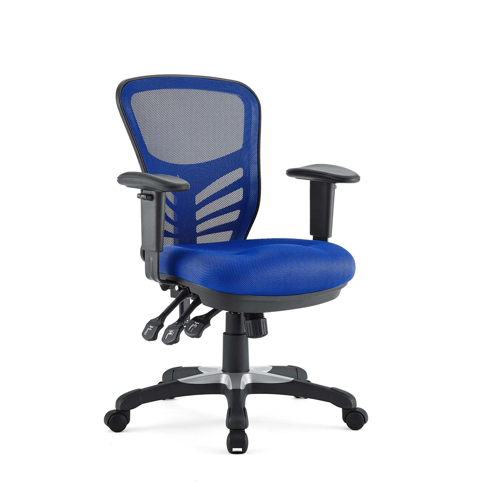 Mesh Office Chair in Blue