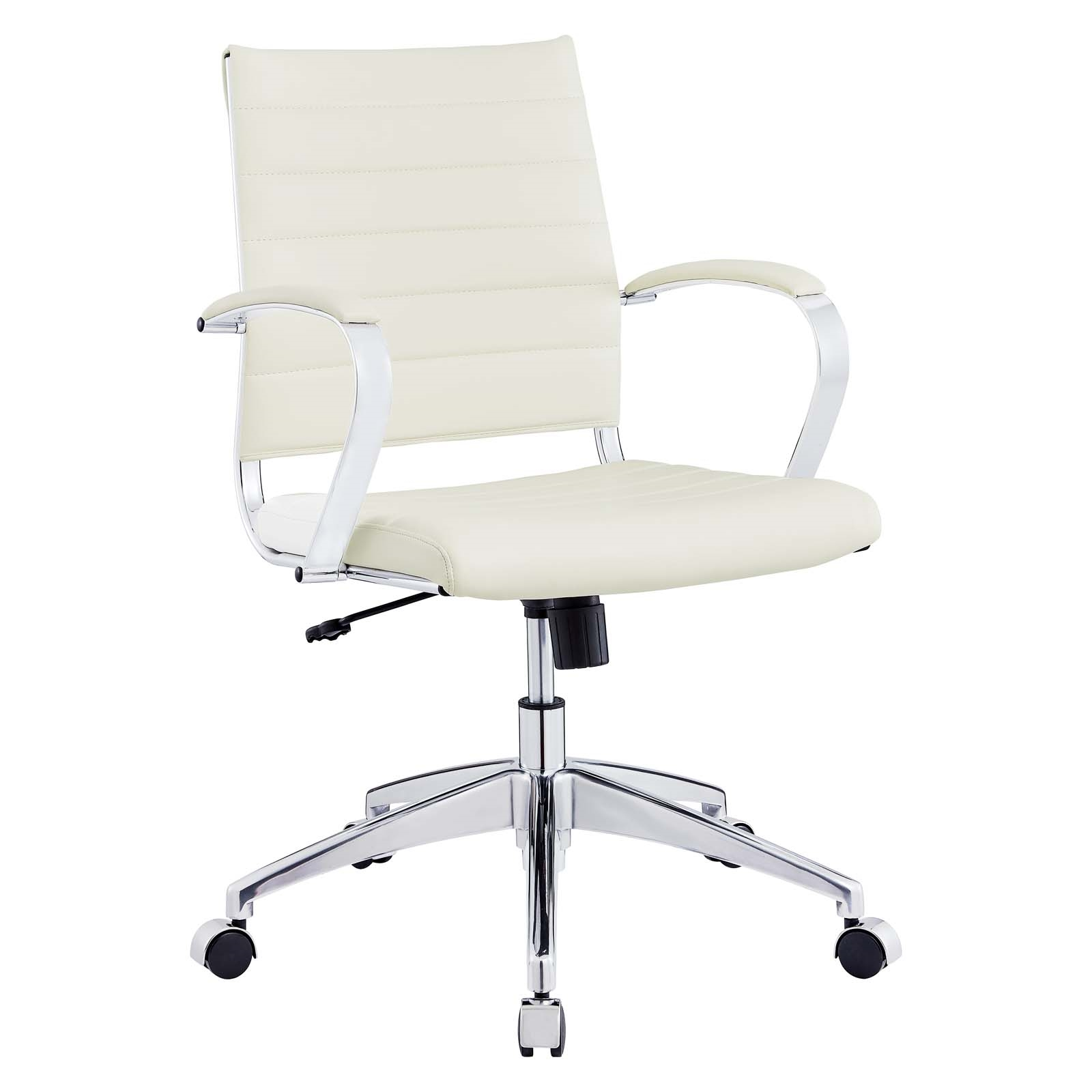 Back Office Chair in White