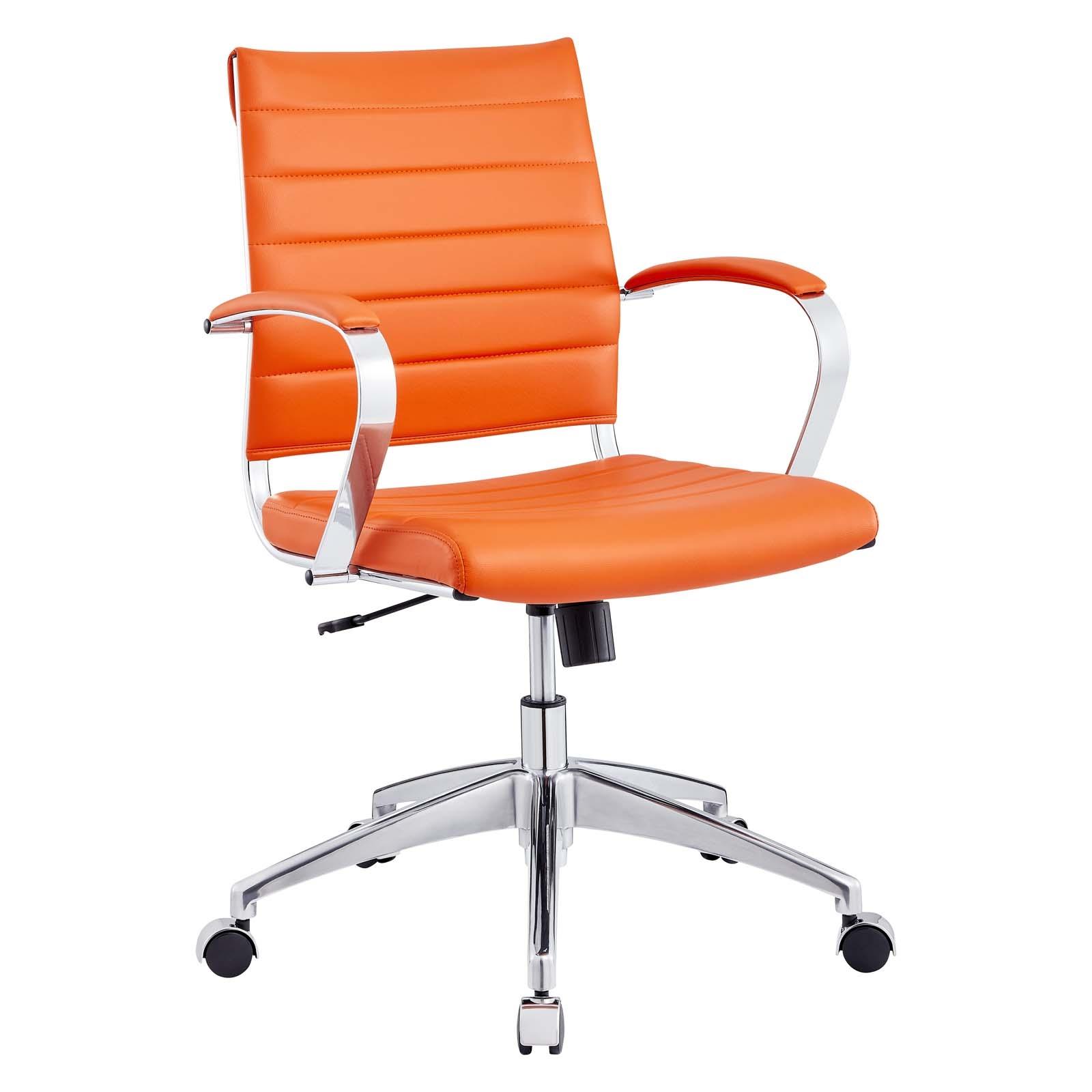 Back Office Chair in Orange