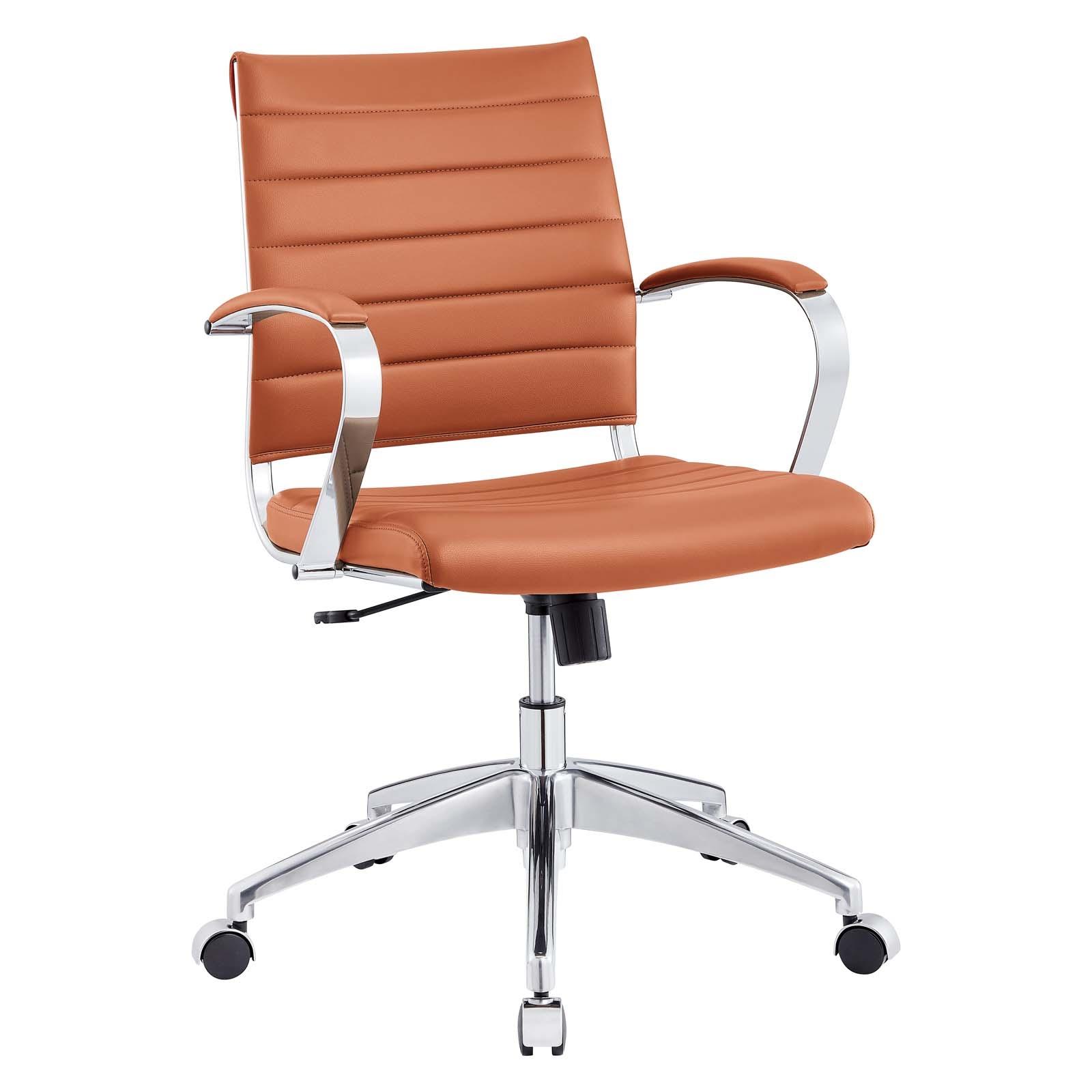 Back Office Chair in Terracotta