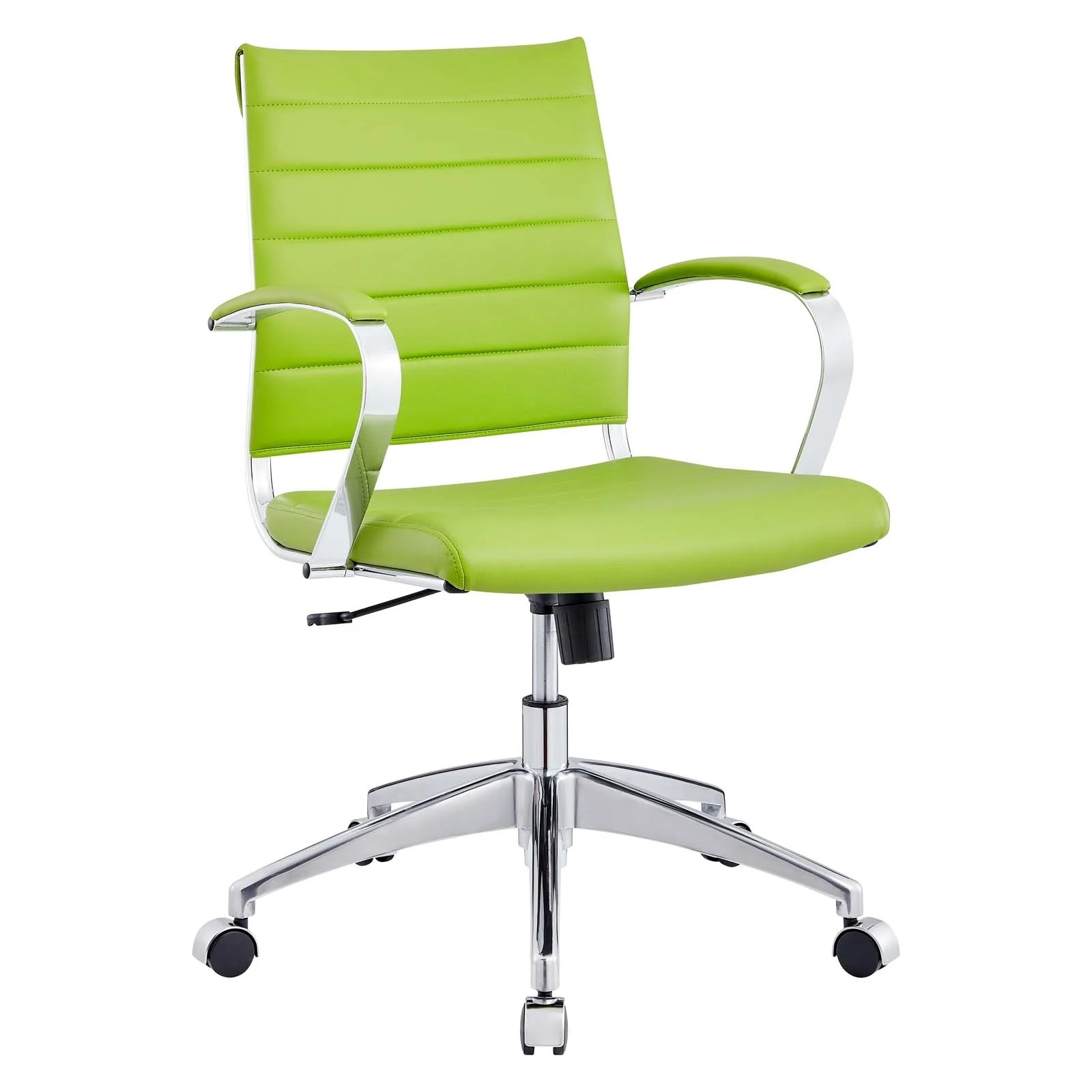 Back Office Chair in Bright Green
