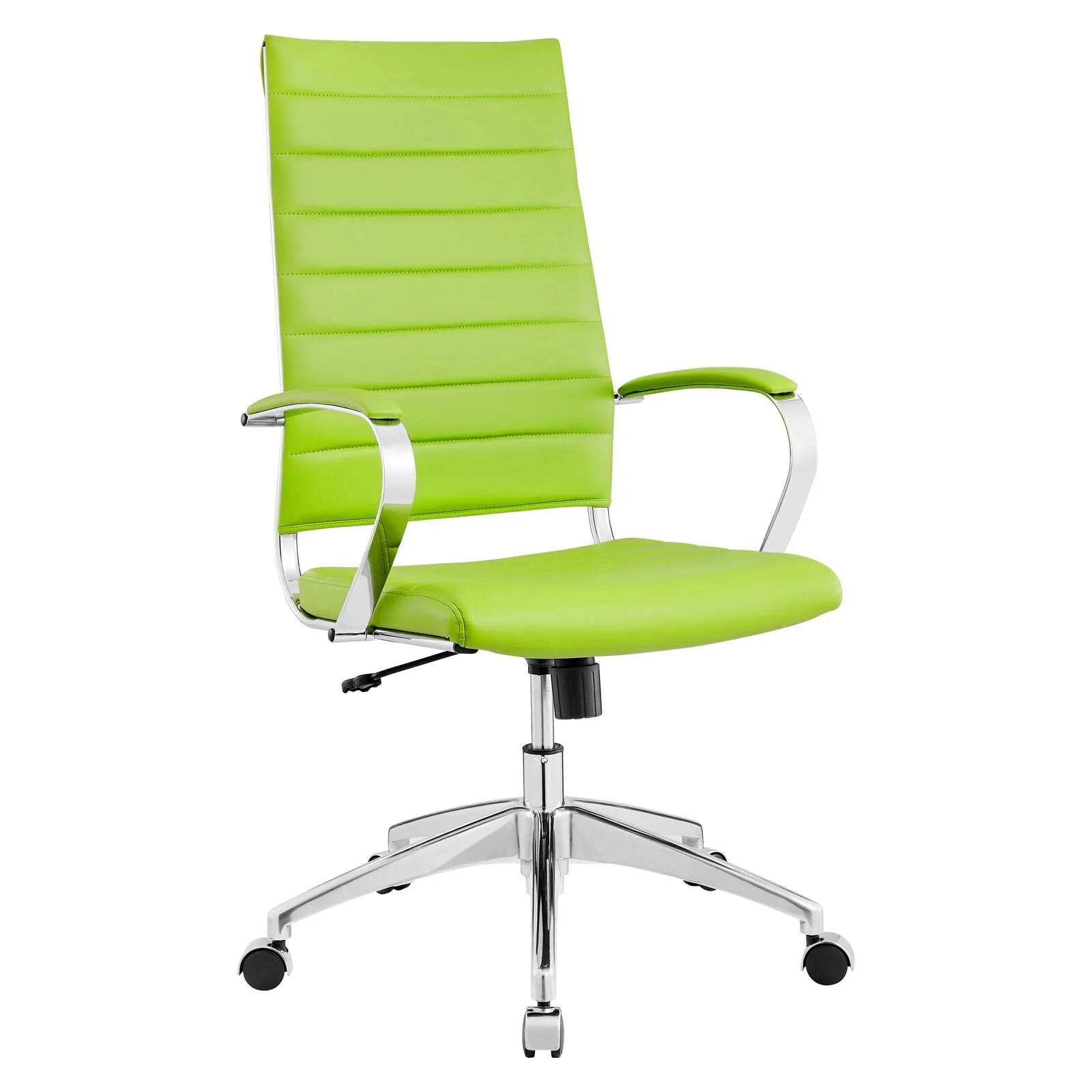 Highback Office Chair in Bright Green