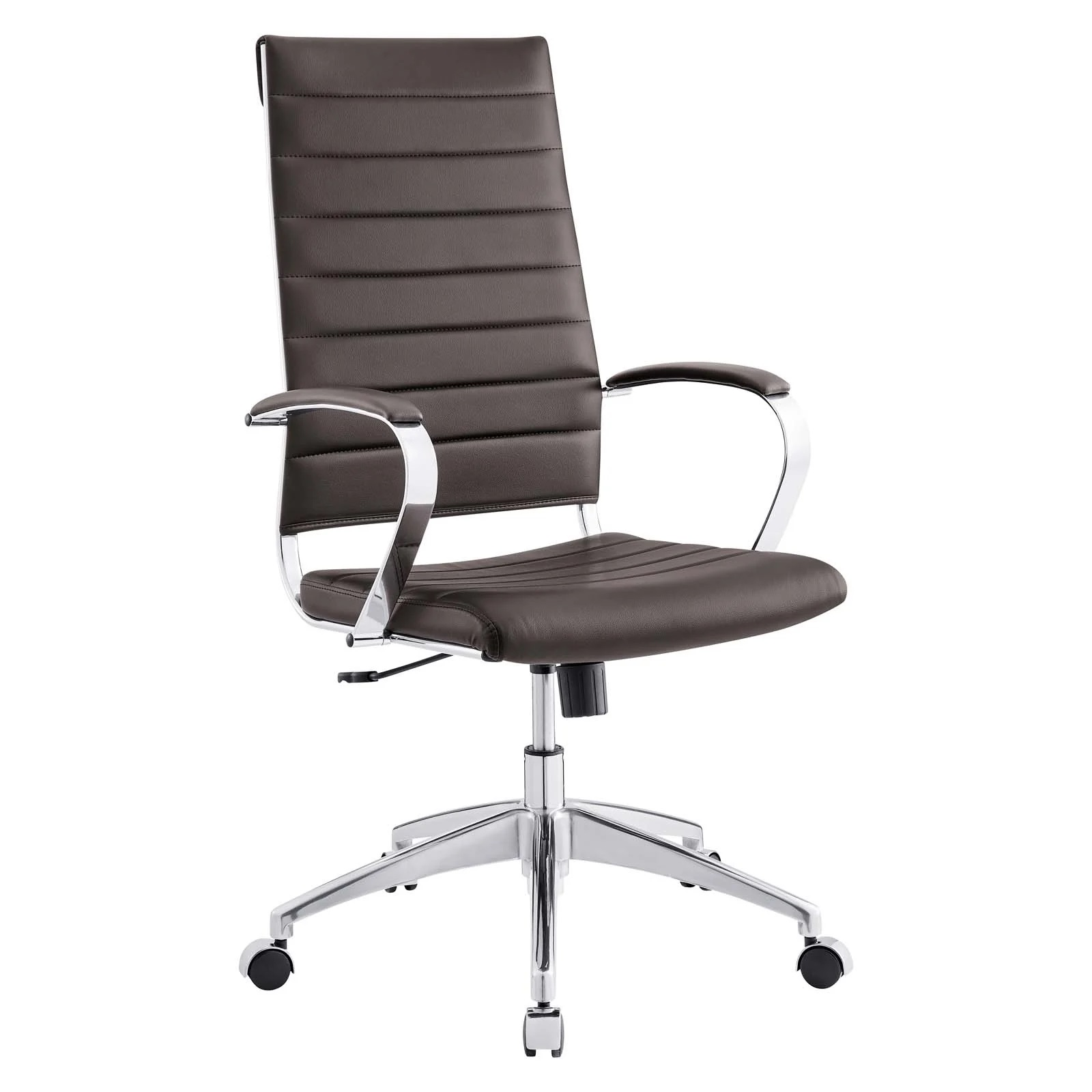 Highback Office Chair in Brown