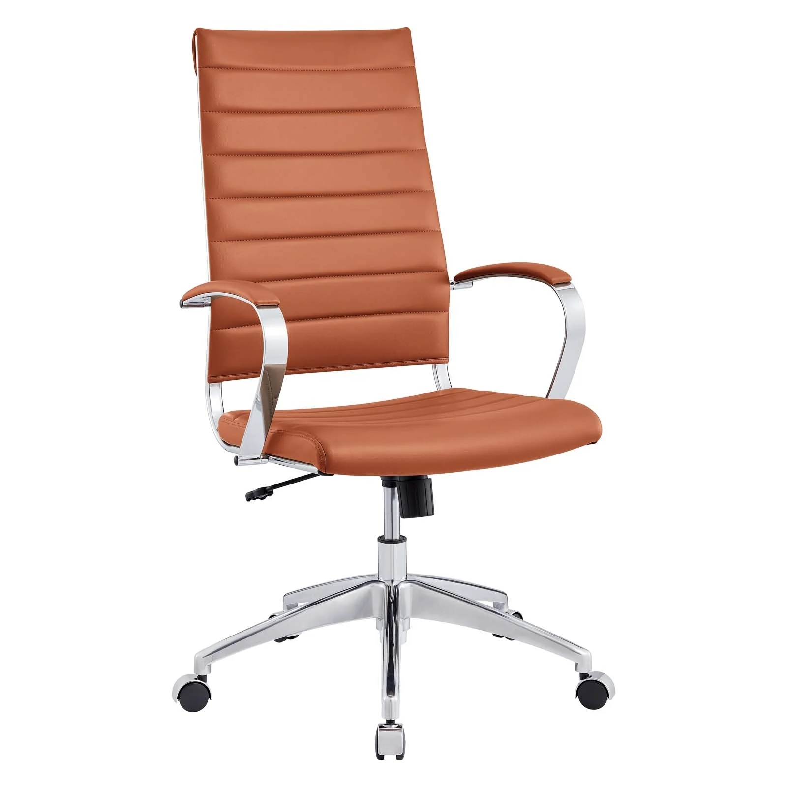 Highback Office Chair in Terracotta