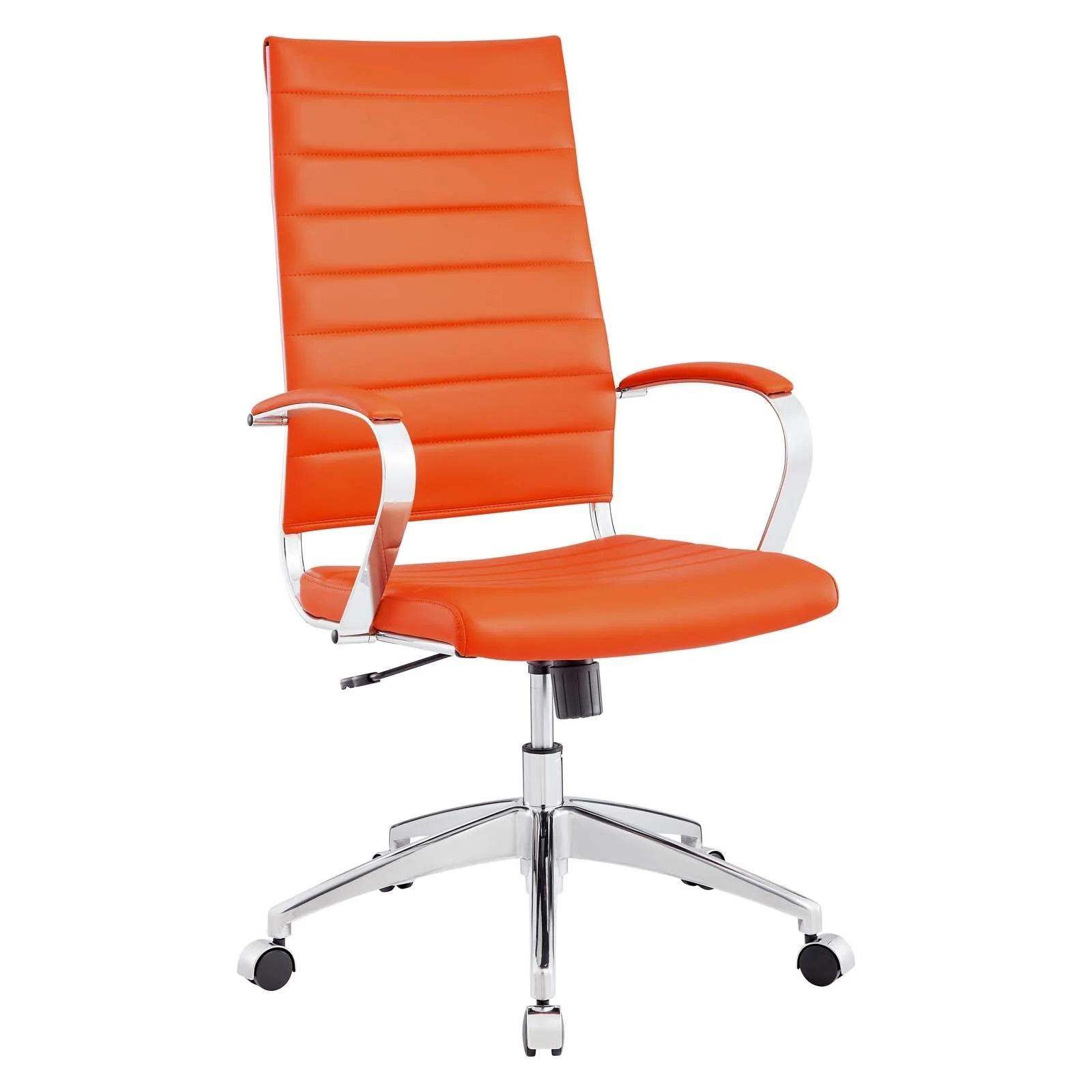 Highback Office Chair in Orange