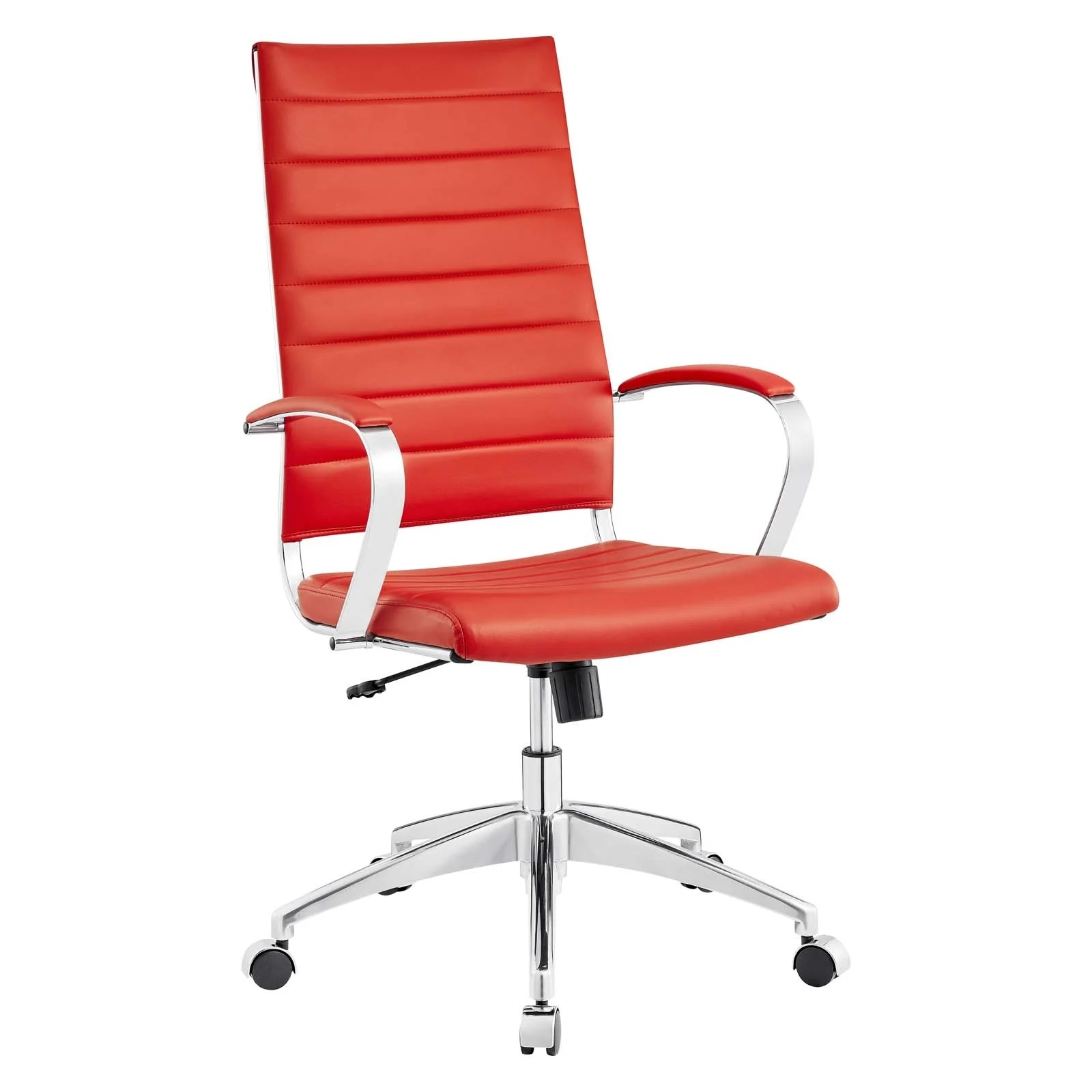 Highback Office Chair in Red