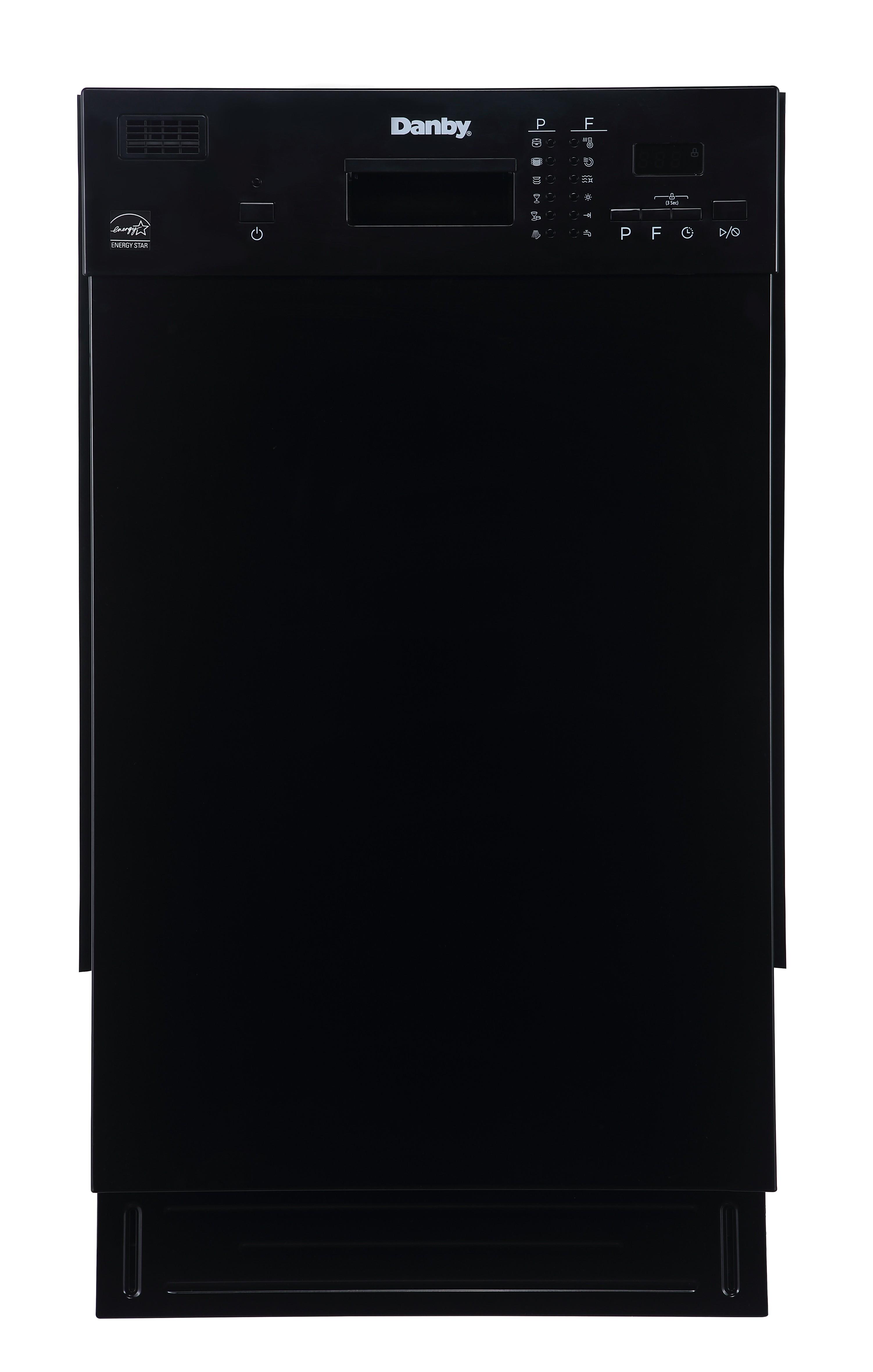 "18"" Black Built In Dishwasher LOG1804EB"
