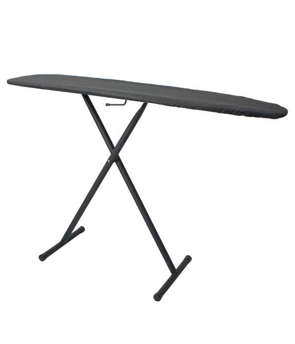 Classic Ironing Board- Charcoal Cover/Black Legs