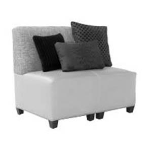 Double Armless Sofa
