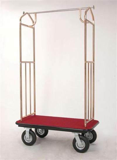 Bellman Brass Plated Cart