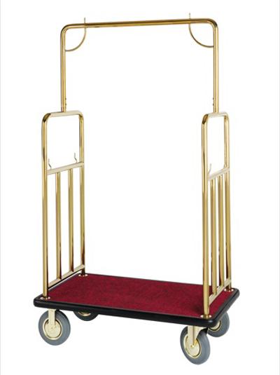 Bellman Titanium Gold Tone Cart