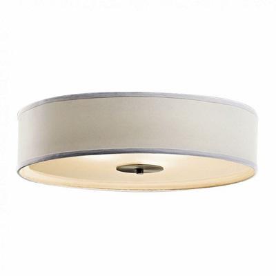 "Indoor Ceiling Fixture ø 15X4"" for MPLR, Fabric, PMMA diffuser(21358-BP6)"