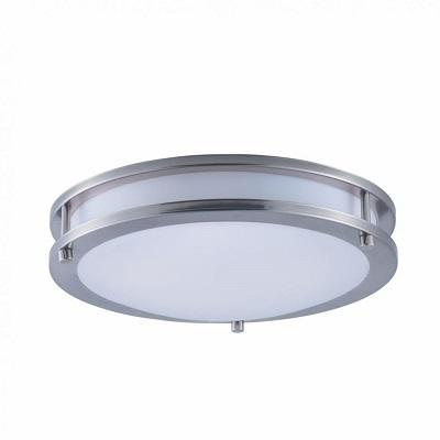"""Indoor Ceiling Fixture ø 12X3.2"""" for MPLR, PMMA diffuser(21400-BN-BP6)"""