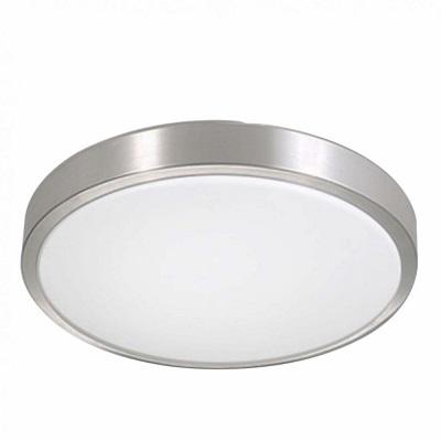 "Indoor Ceiling Fixture ø 11.2X3"" for MPLR, PMMA diffuser(21415-MN-BP6)"