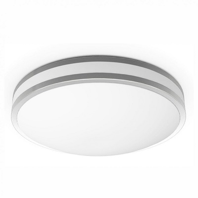 "Indoor Ceiling Fixture ø 14X3.5"" for MPLR, PMMA diffuser(21531-MN-BP6)"